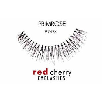 Red Cherry False Eyelashes (Pack of 10 pairs) (747S)