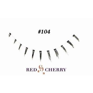 Red Cherry False Eyelashes (Pack of 10 pairs) (104)