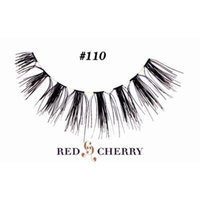Red Cherry False Eyelashes (Pack of 10 pairs) (602)