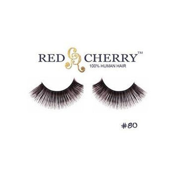 Red Cherry False Eyelashes (Pack of 10 pairs) (80)