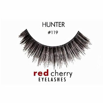 Red Cherry False Eyelashes (Pack of 10 pairs) (119)