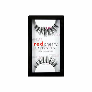 Red Cherry False Eyelashes (Pack of 10 pairs) (110)