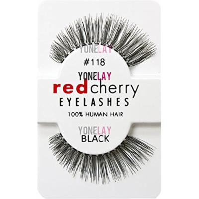 Red Cherry False Eyelashes (Pack of 10 pairs) (118)