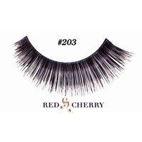 Red Cherry False Eyelashes (Pack of 10 pairs) (203)