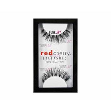 Red Cherry False Eyelashes (Pack of 10 pairs) (523)