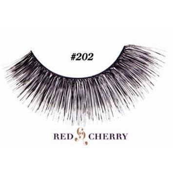 Red Cherry False Eyelashes (Pack of 10 pairs) (202)