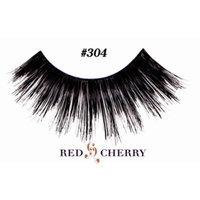 Red Cherry False Eyelashes (Pack of 10 pairs) (304)