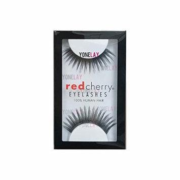 Red Cherry False Eyelashes (Pack of 10 pairs) (138)