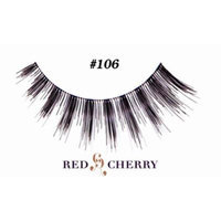 Red Cherry False Eyelashes (Pack of 10 pairs) (106)