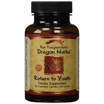 Return to Youth (Huan Shao Dan) Dragon Herbs 100 Caps