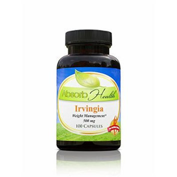 African Mango (Irvingia Gabonesis) , 100 Capsules 500mg , 10:1 Powerful Extract , Burn Weight Fast , Weight Loss Supplement