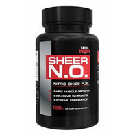 SHEER N.O. - #1 Best Nitric Oxide Supplement ● Premium Nitric Oxide Booster from Sheer Strength Labs ● Build Muscle and Strength Or It's Free: 30-Day 'Thrilled Customer' 100% Guarantee