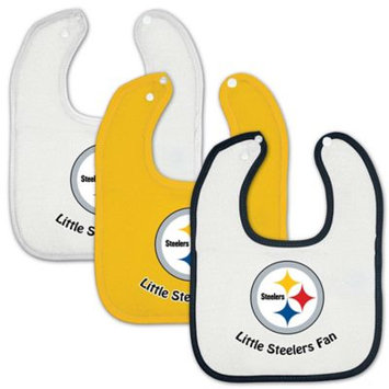 McArthur Sports Pittsburgh Steelers Three Bib Set