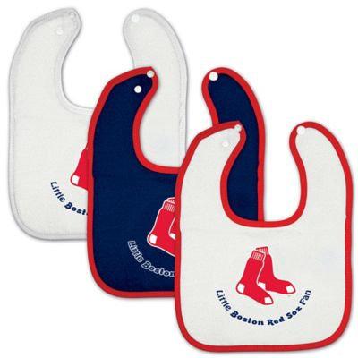 McArthur Sports Boston Red Sox Three Bib Set