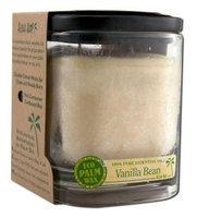 Eco Palm Square Jar, Vanilla Bean Cream 8 oz by Aloha Bay