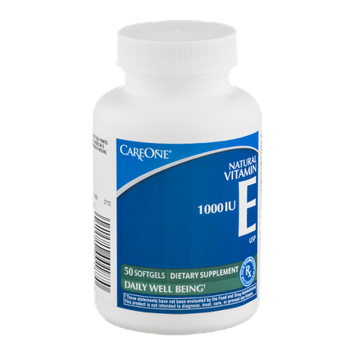 CareOne Vitamin E 1000IU - 50 CT