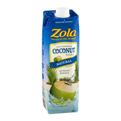 Zola Fruits Of The World Coconut Water Natural