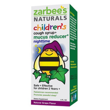 Zarbee's Naturals Children's Nighttime Grape Cough Syrup + Mucus
