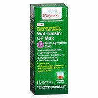 Walgreens Wal-Tussin Cough & Cold CF Multi-Symptom Liquid