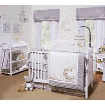 Farallon Brands Petit Tresor Nuit 4-Piece Crib Bedding Set