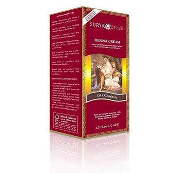 Surya Henna Surya Amazonia Preciosa - Henna Dark Brown Cream 2.31 Oz