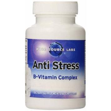 Eden Pond Anti-Stress Vitamin B Complex Extreme Potency Premium Formula Capsules, 60 Count