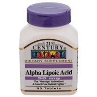 21st Century Healthcare Alpha Lipoic Acid 50 mg 90 Tablets, 21st Century Health Care