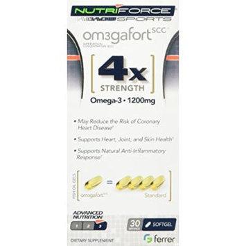 Nutriforce Sports Omega-Fort 4x Omega Supplement, 30 Count