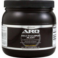 ARO-Vitacost Black Series Glutamine Raw Unflavored -- 5 grams - 1.1 lb (500 g)