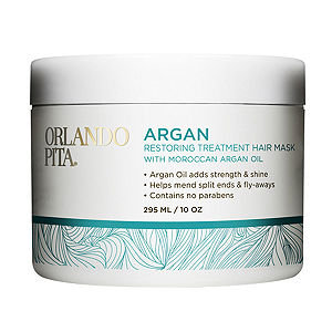Beauty's Most Wanted Orlando Pita Argan Restoring Hair Mask Professional Salon Quality, 10 oz
