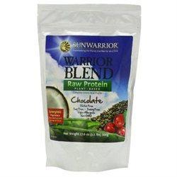 Sun Warrior - Warrior Blend Raw Protein Chocolate - 17.6 oz.