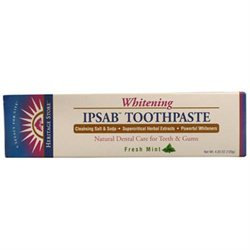 Heritage Products IPSAB Whitening Toothpaste Fresh Mint - 4.23 oz - Vegan