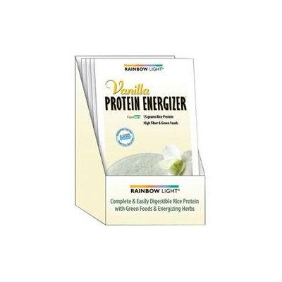 Rainbow Light Protein Energizer Vanilla Case of 8 Packets
