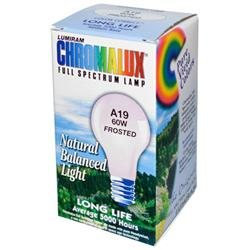 Chromalux 0707000 Light Bulb Frosted-60W - 1 Bulb