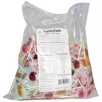 YummyEarth Assorted Flavors Organic Lollipops