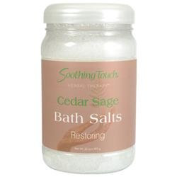Soothing Touch Bath Salts Cedar Sage 32 oz