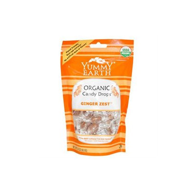 Yummyearth Organic Candy Drops Ginger Zest Ginger Zest (case Of 6) /