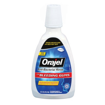 Orajel Anti-Bacterial Bleeding Gum Rinse