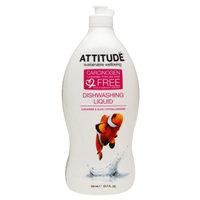 Attitude Dishwashing Liquid, Olive & Coriander, 23.7 fl. Oz