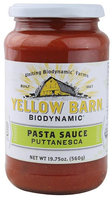 Good Boy Organics Yellow Barn Biodynamic Pasta Sauce Puttanesca 19.75 fl oz