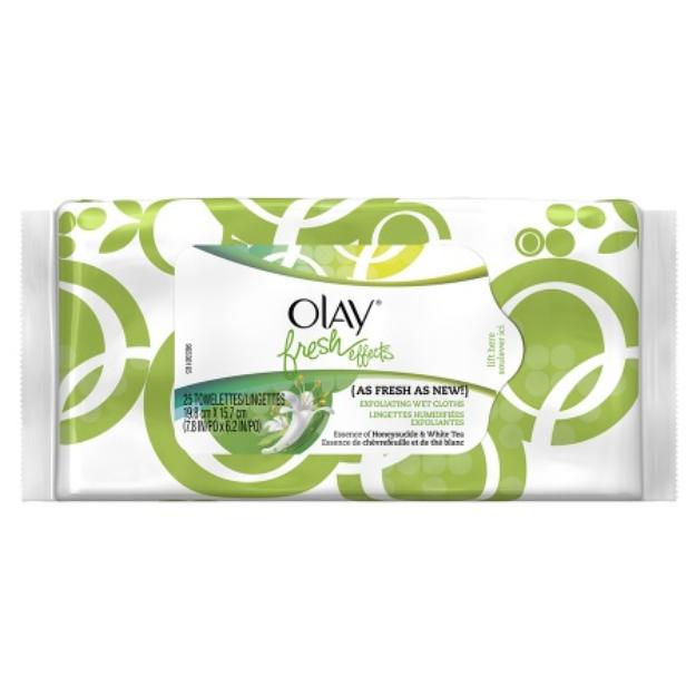 Olay Fresh Effects As Fresh As New Exfoliating Wet Cloths