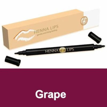 Natural Lip Stain, Henna Lips Lip Liner - Grape