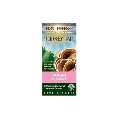 Fungi Perfecti - Host Defense Turkey Tail Cellular Support - 120 Vegetarian Capsules