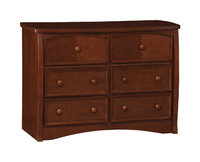 Kids Dresser: Slumber Time Elite by Simmons Kids Dresser - Dark Brown