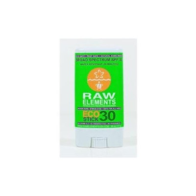 Raw Elements Eco Form Sunscreen Stick SPF 30 Plus .6 oz