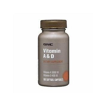 GNC Vitamin A & D, Softgel Capsules 100 ea