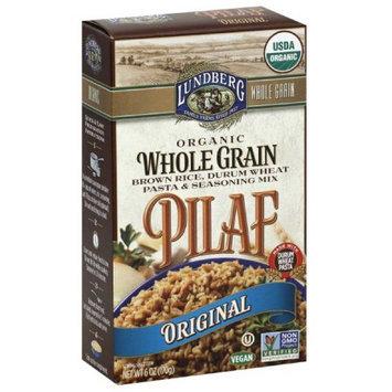 Lundberg Original Pilaf Organic Whole Grain Brown Rice, Durum Wheat Pasta & Seasoning Mix, 6 oz, (Pack of 6)