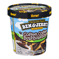 Ben & Jerry's Coffee Coffee BuzzBuzzBuzz Ice Cream 16 oz