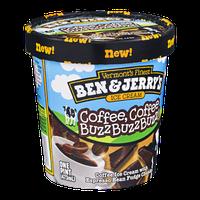 Ben & Jerry's Coffee Coffee BuzzBuzzBuzz Ice Cream 16 oz