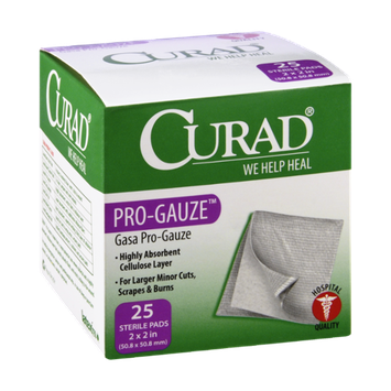 Curad Pro-Gauze - 25 CT